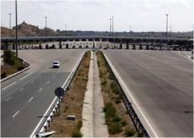 autopista vacía